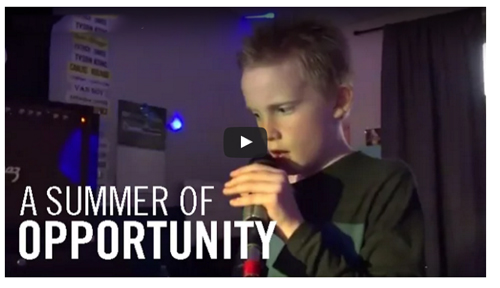 summer opportunity video