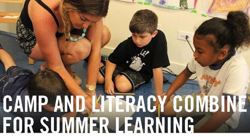 summer learning and literacy at camp
